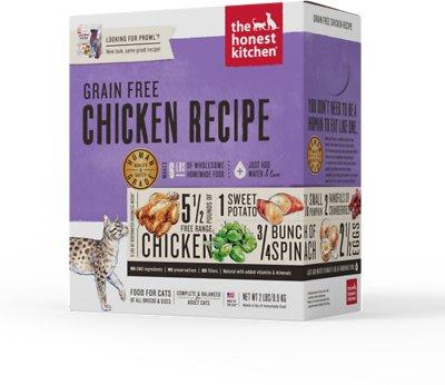 The Honest Kitchen Grain-Free Chicken Recipe Dehydrated Cat Food, 2-lb box