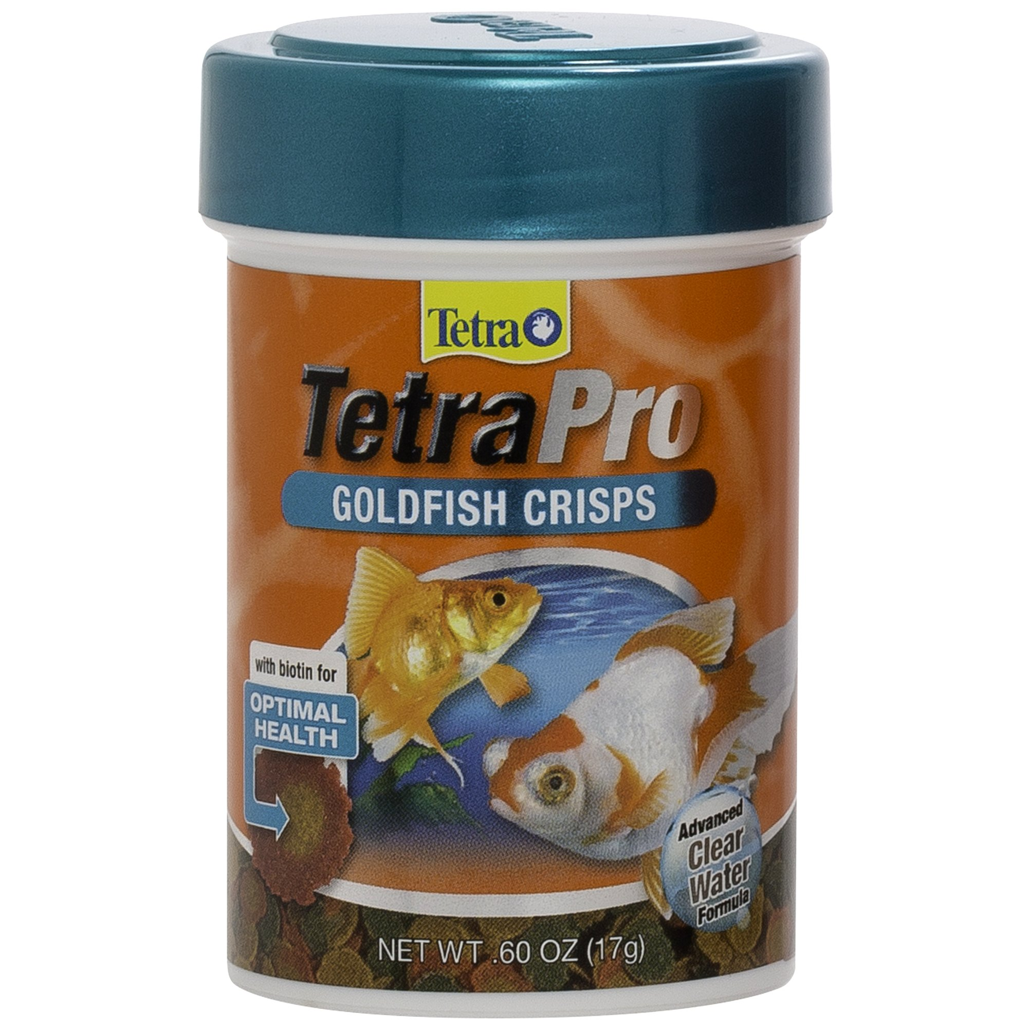 Tetra TetraPro Goldfish Crisps Fish Food, 0.6-oz