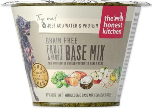 The Honest Kitchen Fruit & Veggie Base Mix Grain-Free Dehydrated Dog Food Image