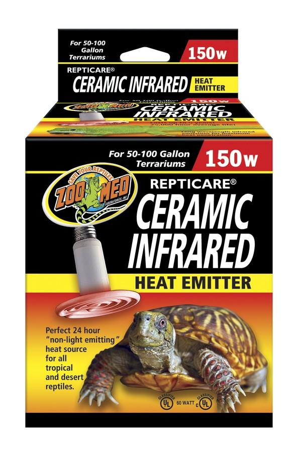 Zoo Med Repticare Ceramic Infrared Reptile Heater, 150-watt