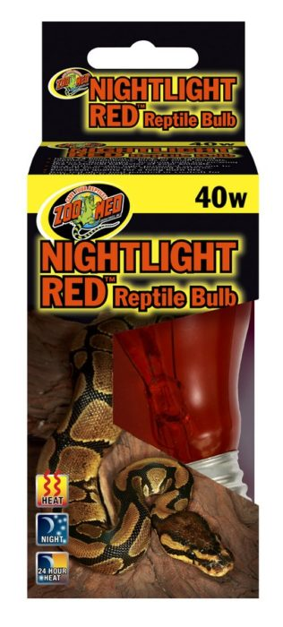 Zoo Med Nightlight Red Reptile Lamp Image