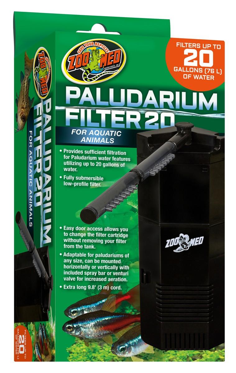 Zoo Med Paludarium Filter, 20-gal