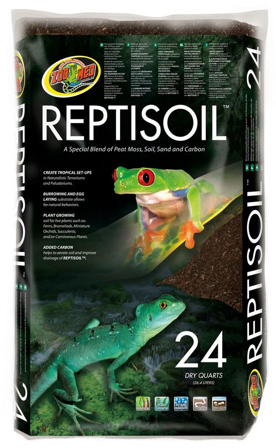 Zoo Med ReptiSoil Reptile Terrarium Substrate, 24-qt bag