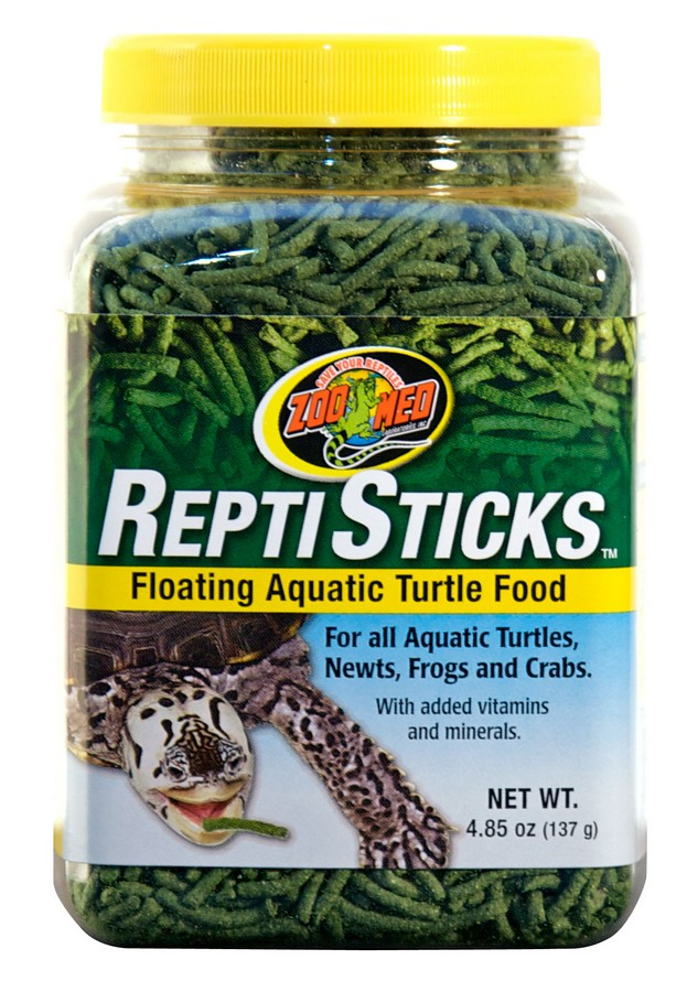 Zoo Med ReptiSticks Floating Aquatic Turtle Food, 4.85-oz