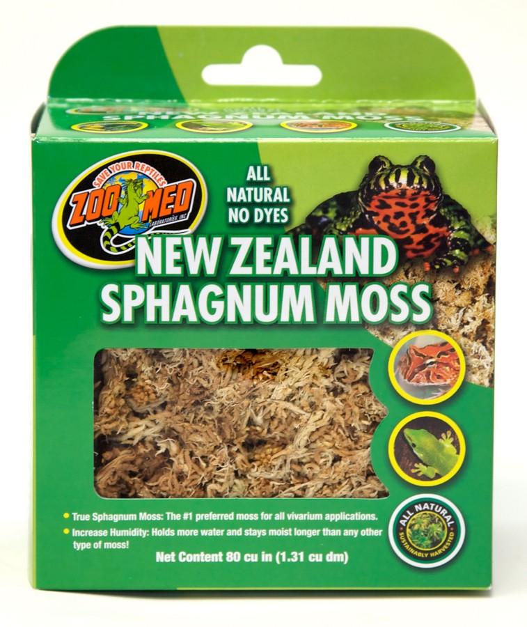 Zoo Med New Zealand Sphagnum Terrarium Moss, .33-lb bag