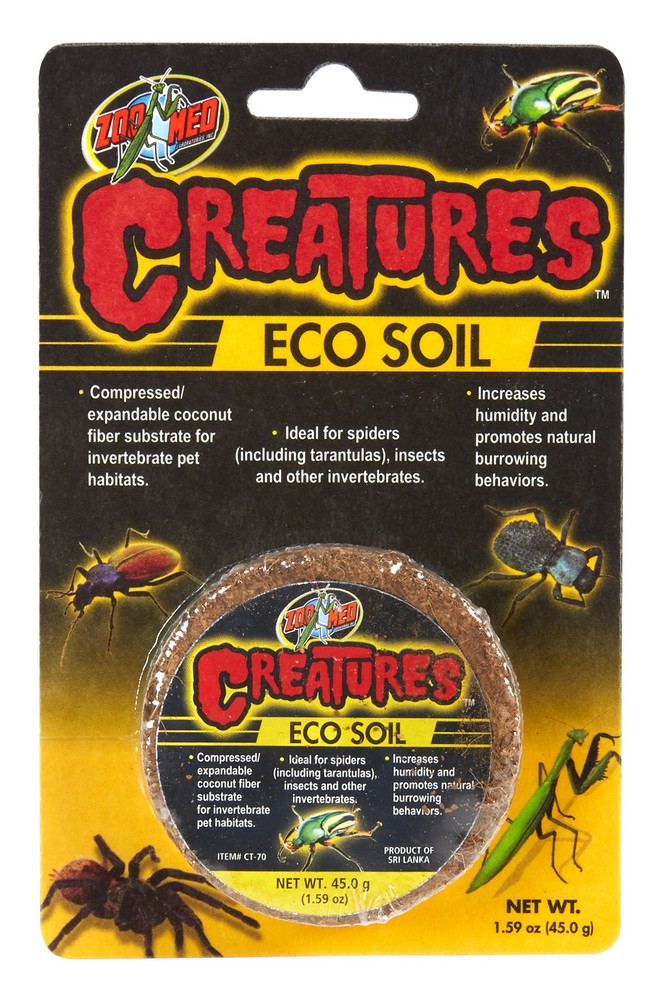 Zoo Med Creatures Eco Soil Substrate, 1.59-oz