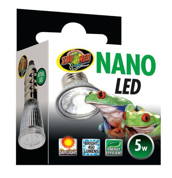 Zoo Med Nano LED Reptile Habitat Lamp, 5-watt