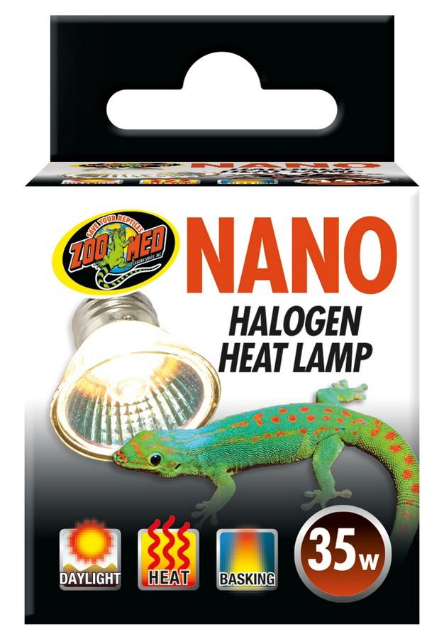 Zoo Med Nano Halogen Reptile Lamp, 35-watt