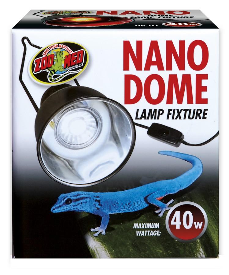 Zoo Med Nano Dome Reptile Lamp Fixture