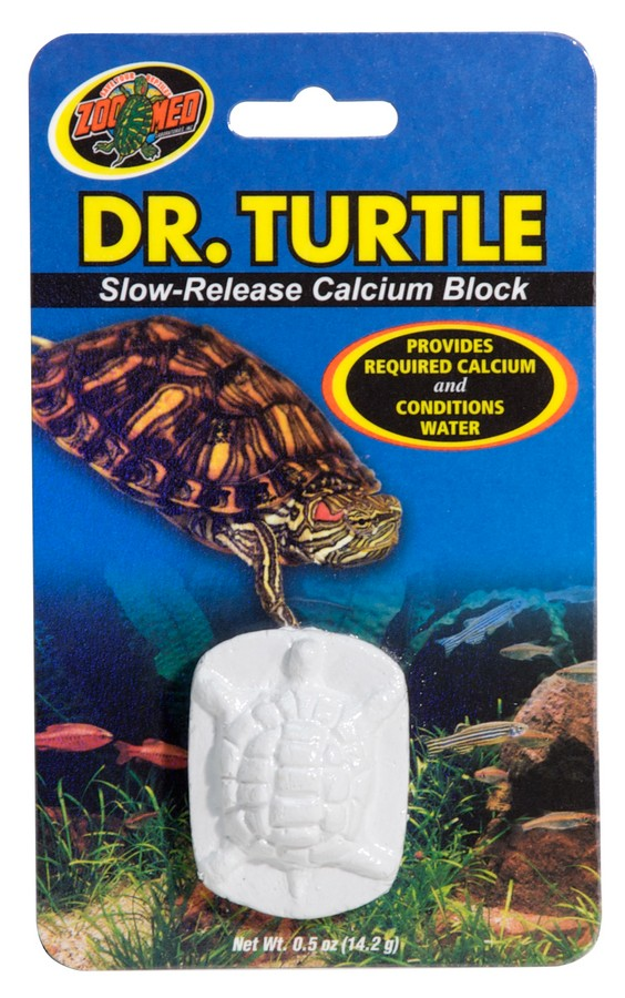 Zoo Med Dr. Turtle, Slow-Release Calcium Block Water Conditioner and Turtle Supplement Image
