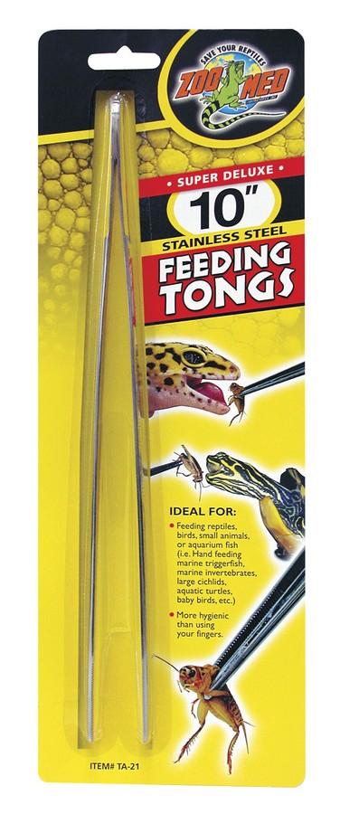 Zoo Med Stainless Steel Feeding Tongs Image