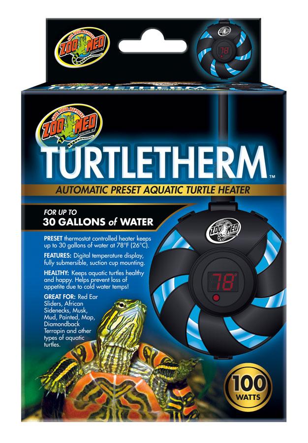 Zoo Med Turtletherm Automatic Preset Aquatic Turtle Heater, 150-watt