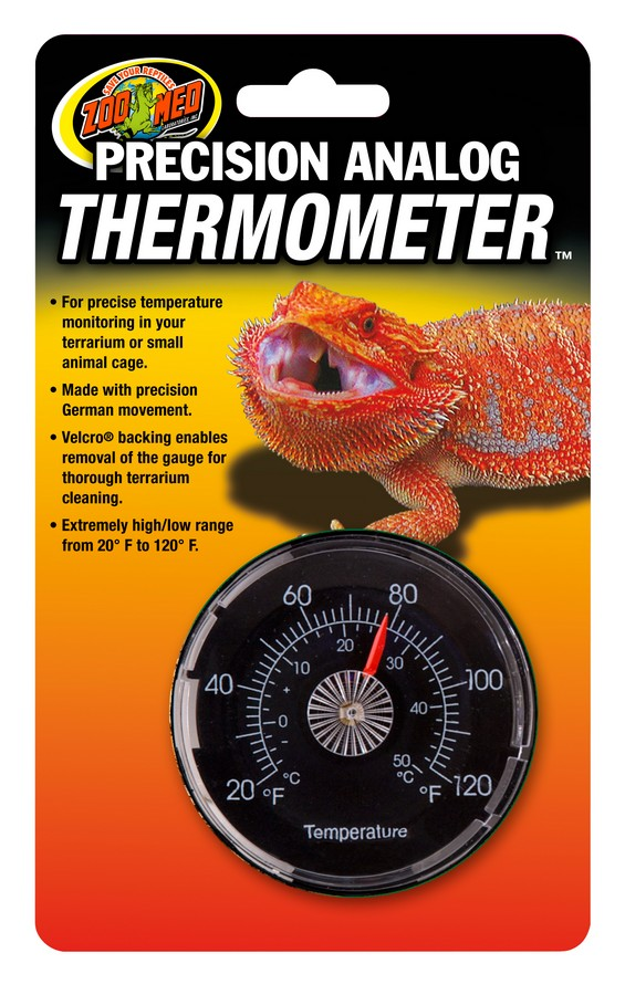Zoo Med Precision Analog Thermometer