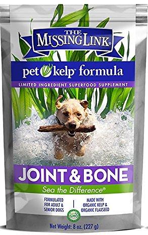 The Missing Link Pet Kelp Formula Joint & Bone Dog Supplement, 8-oz bag