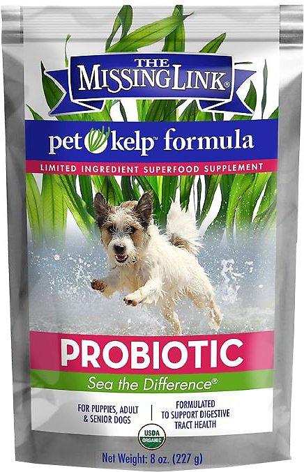 The Missing Link Pet Kelp Probiotic Dog Formula, 8-oz bag
