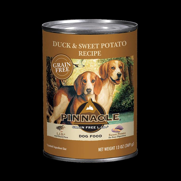 Pinnacle Duck & Sweet Potato Recipe Grain-Free Wet Dog Food,13-oz