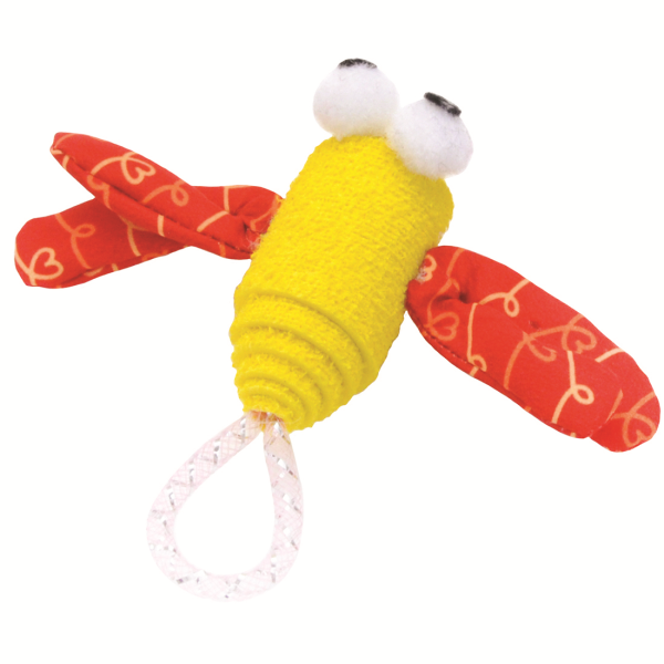 Turbo Foam Fun Dragonfly Cat Toy Image