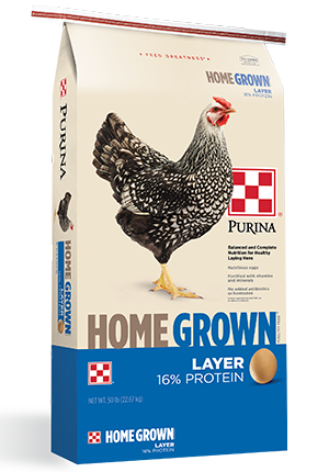 Purina Home Grown Layer Crumbles Poultry Food, 50-lb