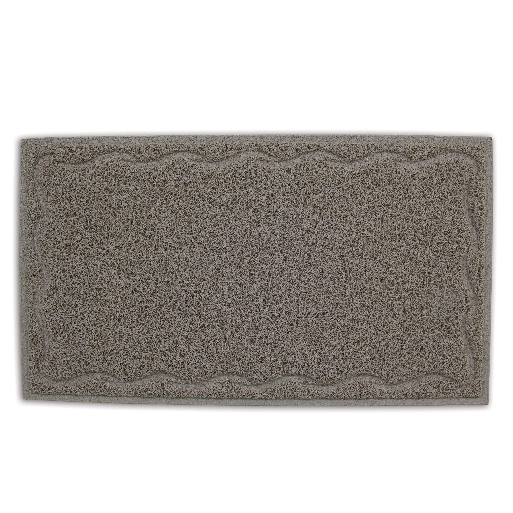 Petmate Tufted Litter Mat, Stone, 23 x 13 x 0.25 inches