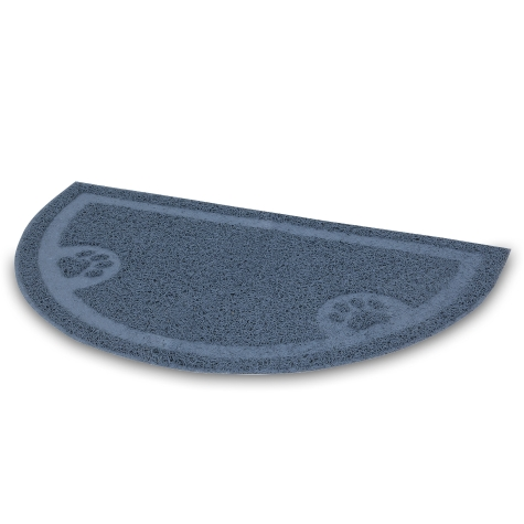 Petmate Litter Catcher Mat, 1/2 Circle Image
