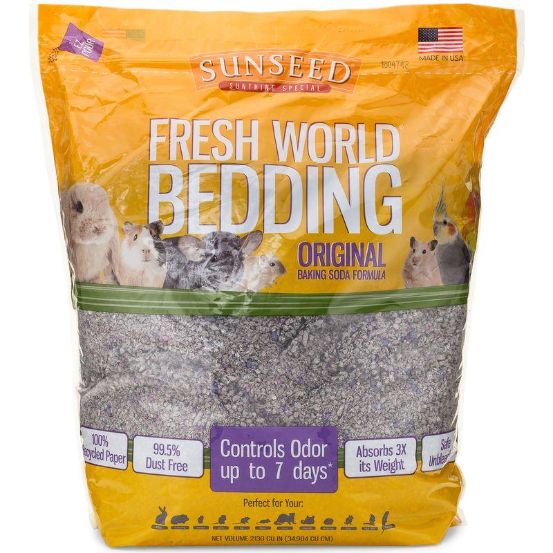 Sunseed Fresh World Bedding, 975 cu in