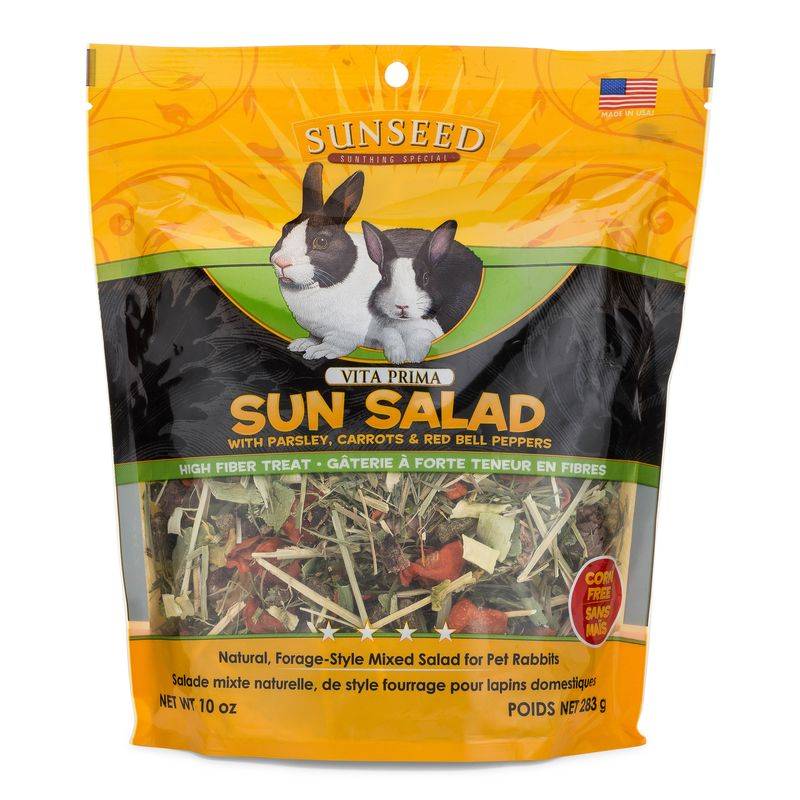 Sunseed Vita Prima Sun Salad for Rabbits, 10-oz bag