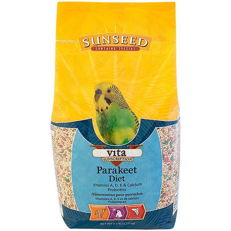 Sunseed Vita Parakeet Diet, 5-lb bag