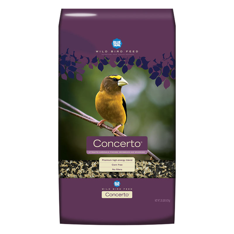 Blue Seal Concerto Wild Bird Food, 20-lb