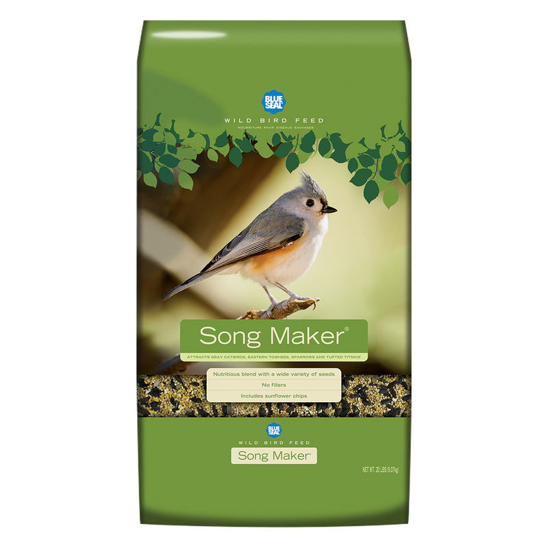 Blue Seal Song Maker Wild Bird Food, 20-lb