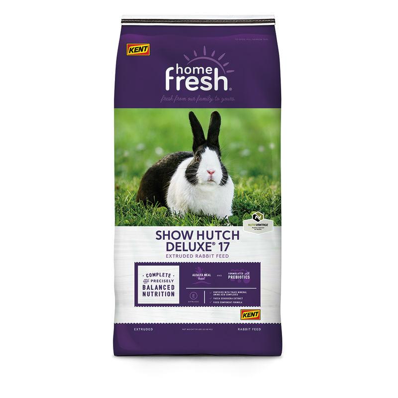 Kent Home Fresh Show Hutch Deluxe 17 Rabbit Food, 50-lb