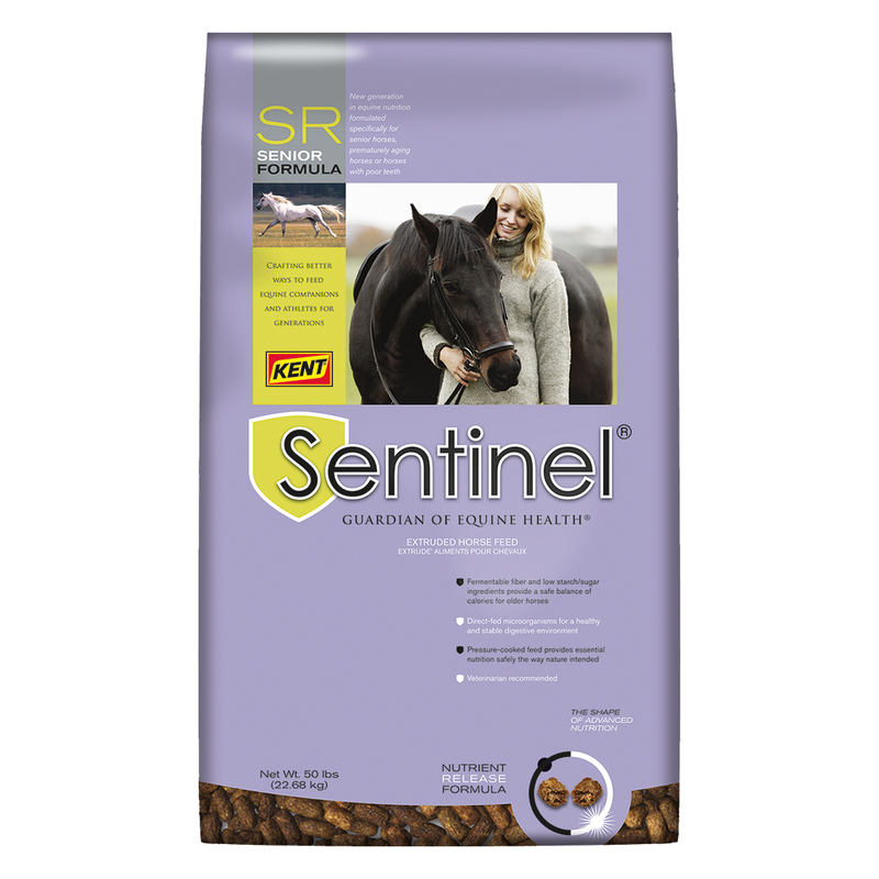 Kent Sentinel Senior SR Formula Horse Feed, 50-lb