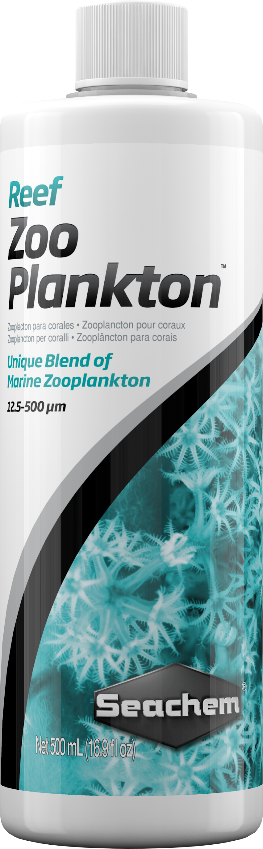 Seachem Reef Zooplankton, Marine Zooplankton Blend, 16.9-oz Bottle