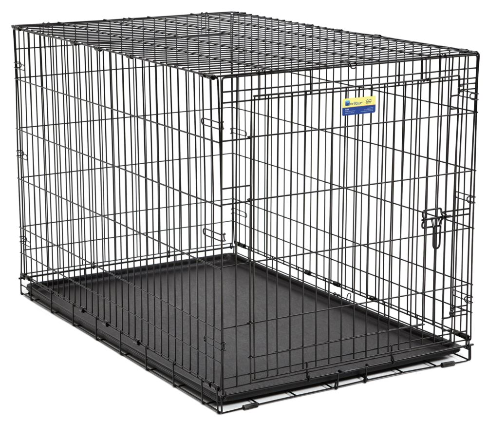Midwest Crate Contour Single Door Dog Crate, 48-in