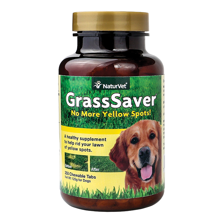 NaturVet GrassSaver Dog Tablets, 250-count