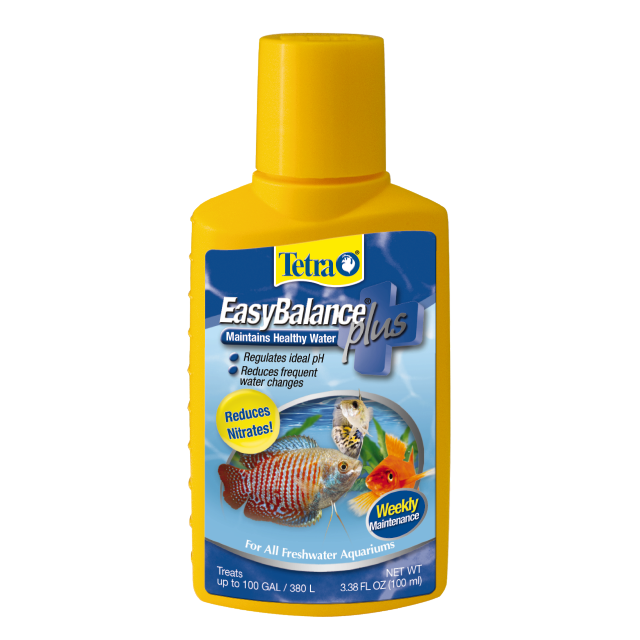 Tetra EasyBalance Plus Freshwater Aquarium Water Conditioner, 3.38-oz Bottle