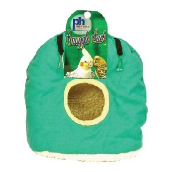 Prevue Pet Products Snuggle Sack Hanging Fabric & Fleece Bird Hideout, Large