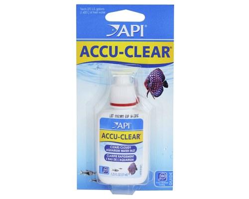 API Accu-Clear Freshwater Aquarium Clarifier, 1.25-oz Bottle