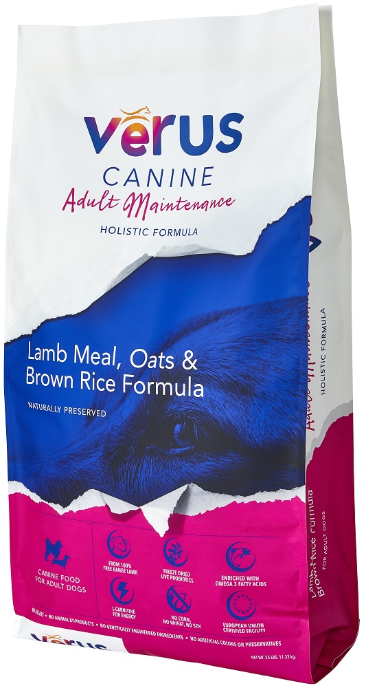 VeRUS Adult Maintenance Formula Dry Dog Food, 4-lb