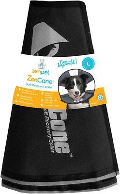 ZenPet ZenCone Soft Recovery Dog & Cat Collar, Large