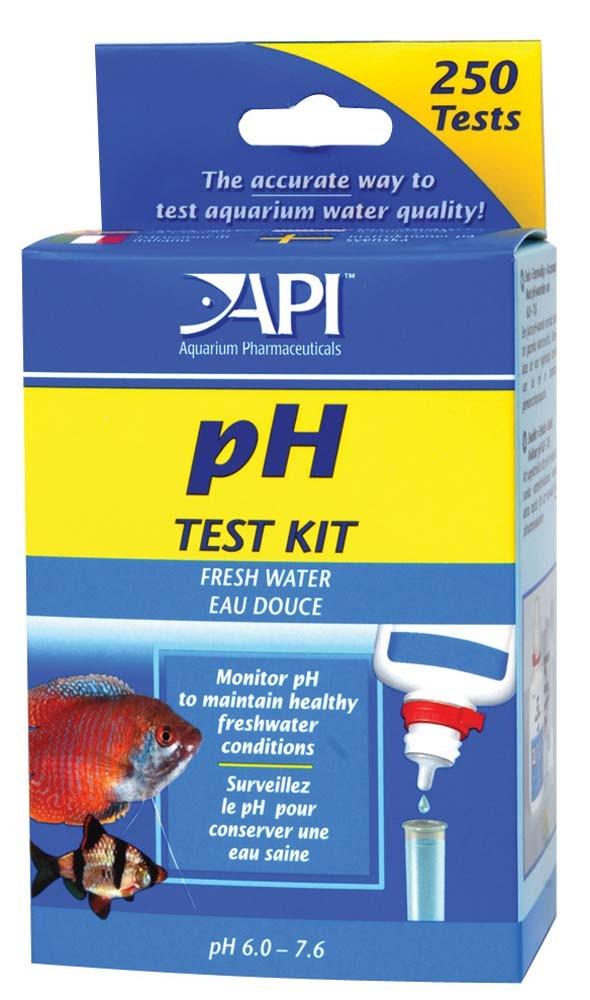 API pH Test Kit for Freshwater Aquariums, 250 count