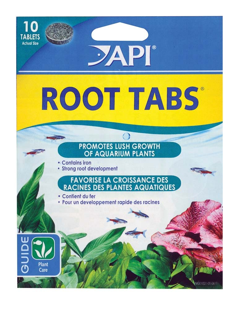 API Root Tabs Aquarium Plant Supplement, 10 count
