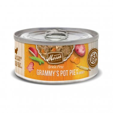 Merrick Grammy's Pot Pie, Small Breed Canned Dog Food, 3-oz