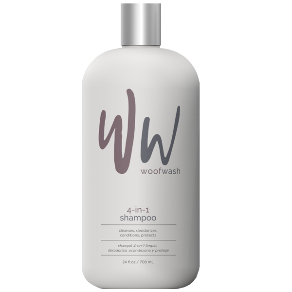 Woof Wash 4-in-1 Shampoo for Pets, 24-oz