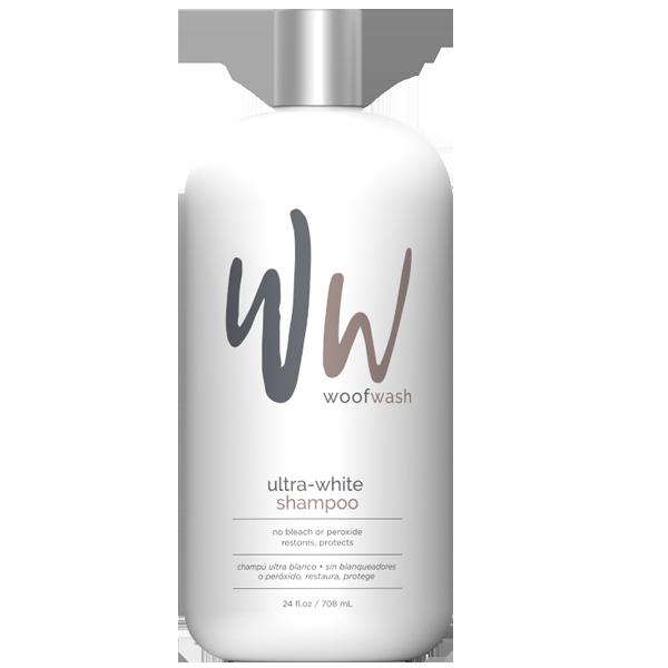 Woof Wash Ultra-White Shampoo for Pets, 24-oz