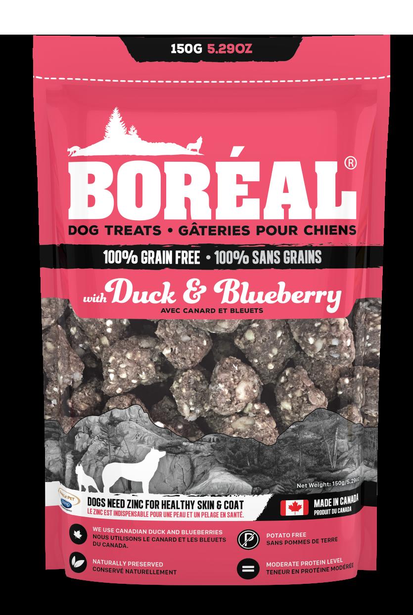 Boreal Grain-Free, Duck & Blueberry Dog Treats Image