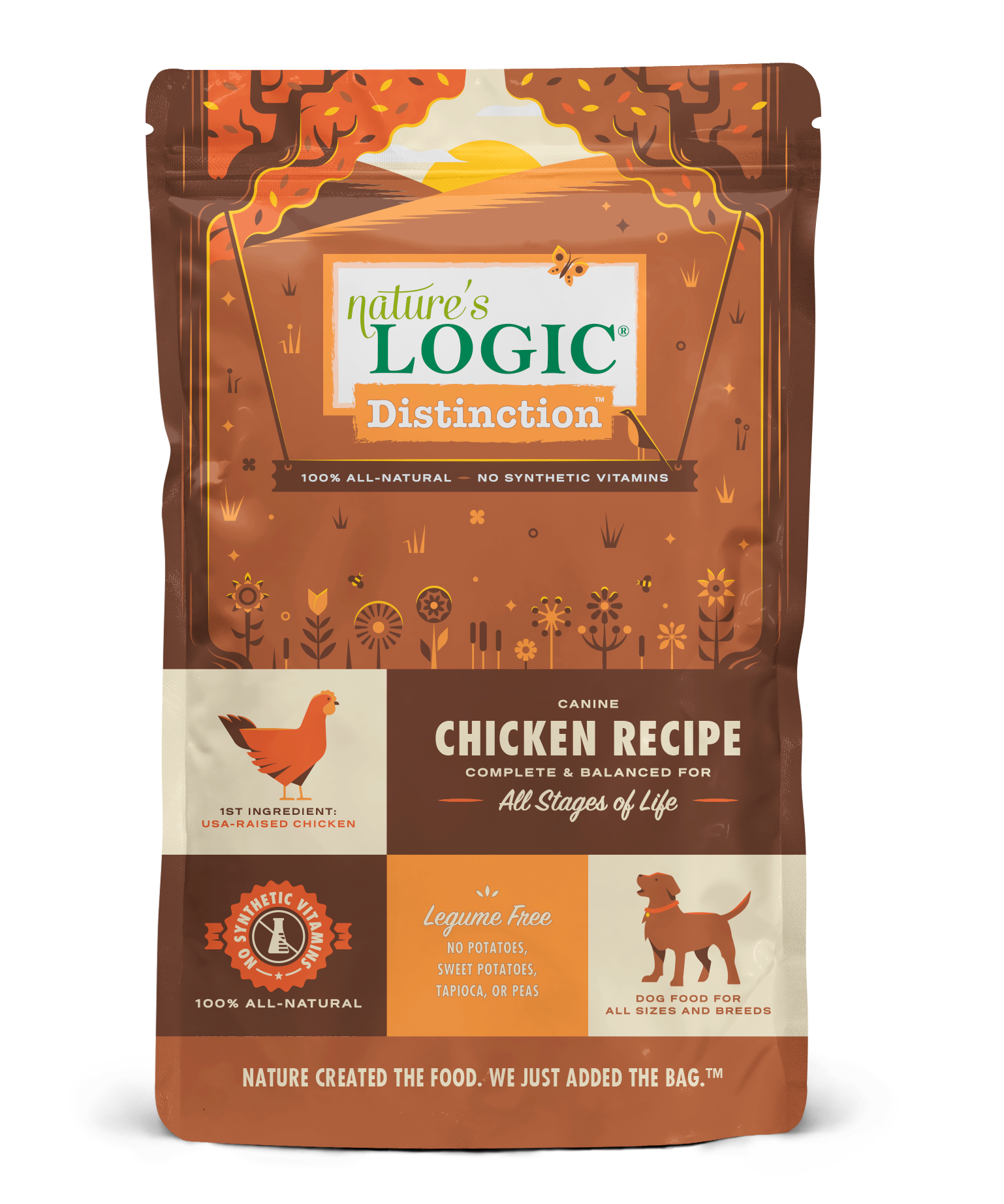 Nature's Logic Distinction Chicken Recipe Dry Dog Food, 4.4-lb