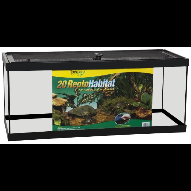 Tetrafauna ReptoHabitat Reptile Enclosure, 20-gal