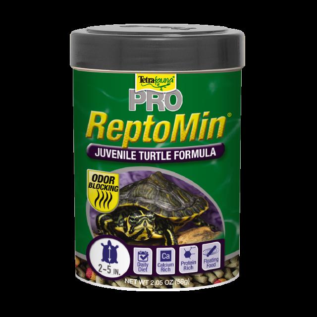 Tetrafauna ReptoMin PRO Juvenile Turtle Food, 2.02-oz