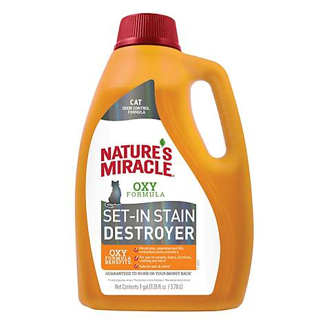 Nature's Miracle Oxy Cat Set-in-Stain Destroyer Image