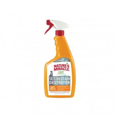 Nature's Miracle Oxy Cat Set-in-Stain Destroyer, 24-oz bottle